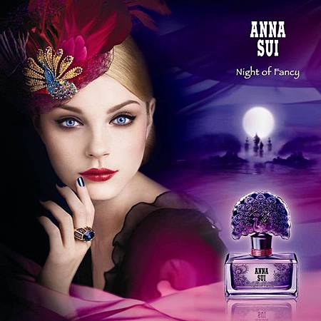 Anna Sui-Night of Fancy ad