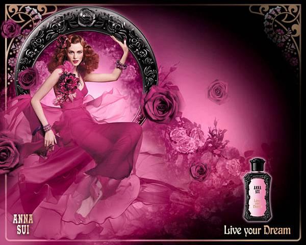 Anna Sui-Live Your Dream ad