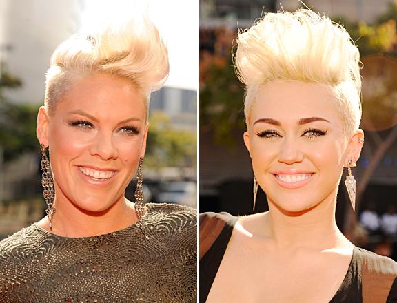 P!nk vs. Miley Cyrus
