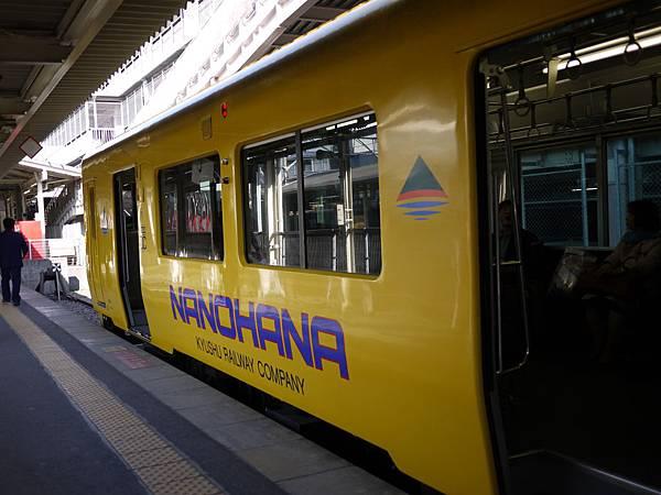 20091209前往指宿竹的JR電車.JPG