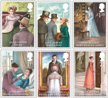 珍奧斯汀郵票