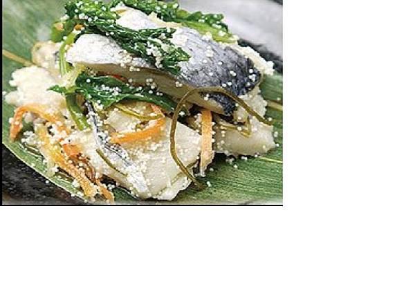 油菜花醋漬生鯡魚