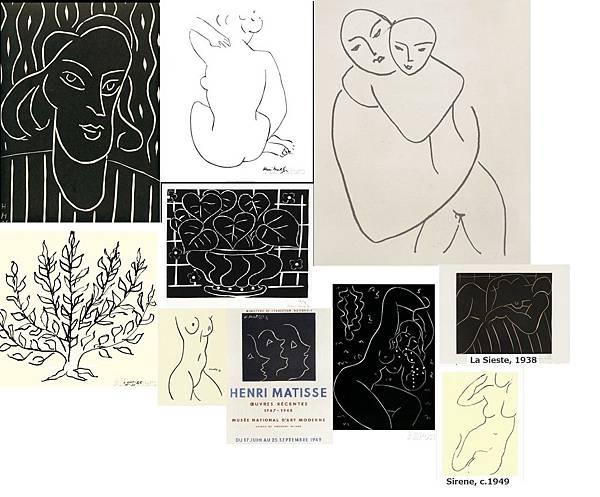 馬諦斯的線畫是我的靈感來源