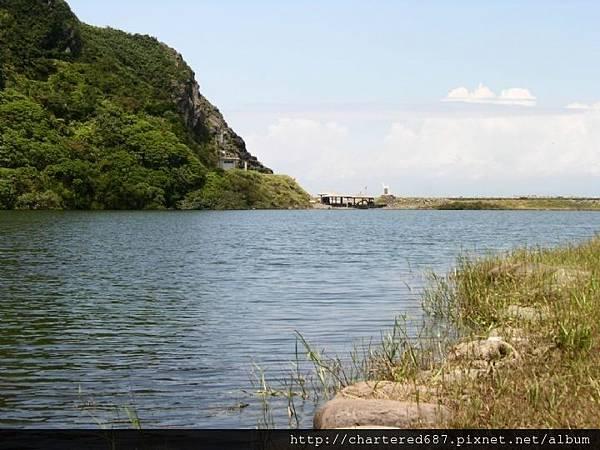 龜山島湖畔風光