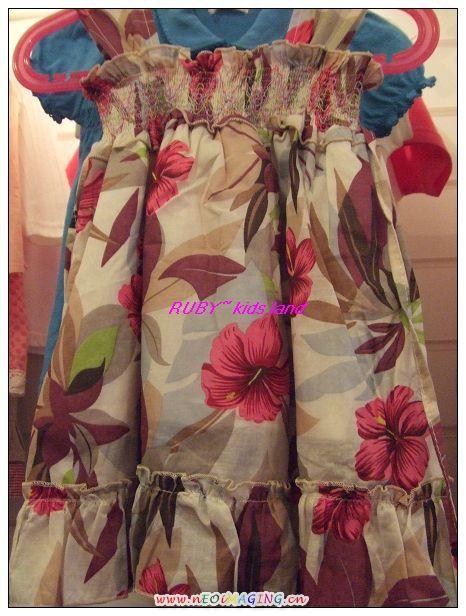 扶桑花洋裝