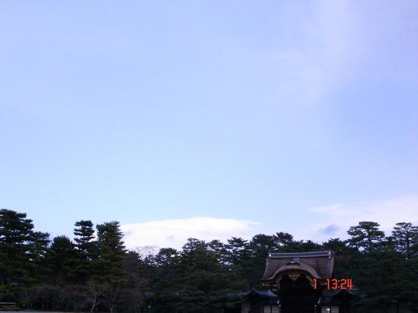 京都御所的天空