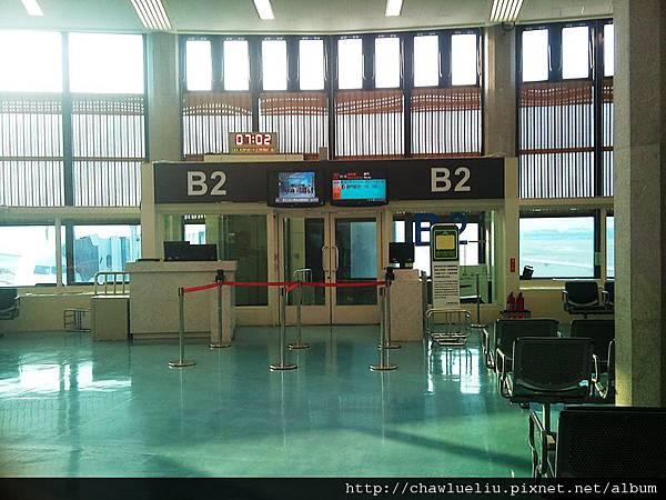 B2登機門