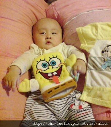 修修和他的海綿寶寶