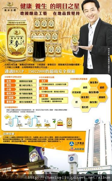 龍泉黑麥汁