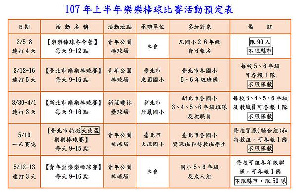 107年上半年樂樂棒球比賽活動預定表.jpg