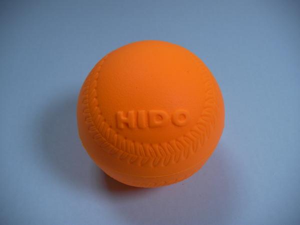 橘黃色的樂樂棒球