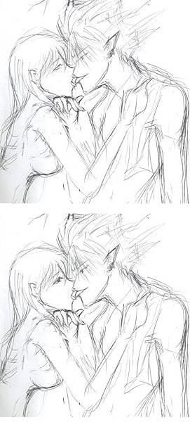 親吻練習圖