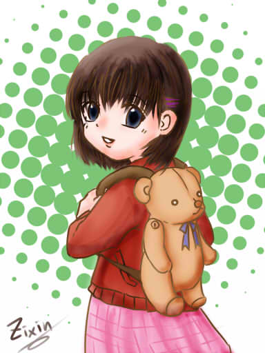 小mamo-熊熊背包