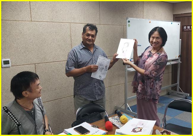 17-周老師對分享的觀感-獲得張老師的Q畫獎(助理-國權加碼).jpg