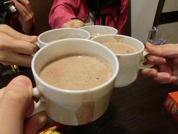 很好喝的熱巧克力, 它是免費的.jpg