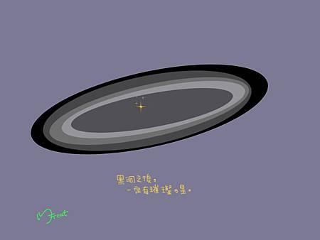 黑洞的星星