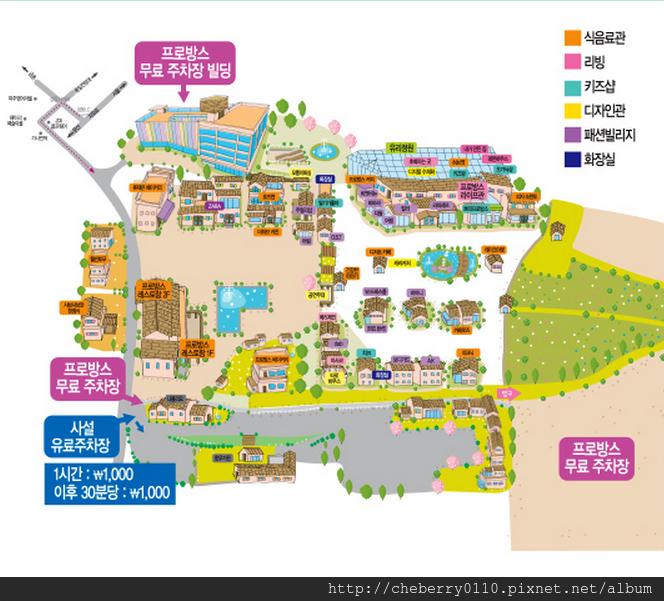 普羅旺司村平面圖