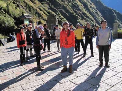 MEN'S UNO 雜誌拍攝山岳老年版