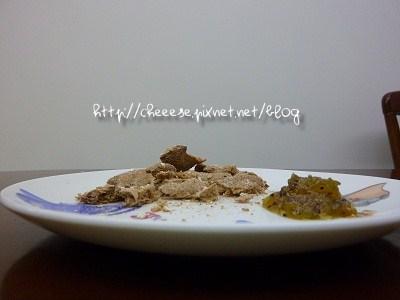 果醬+黑麥脆麵包側照