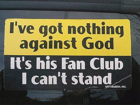 nothing against GOD