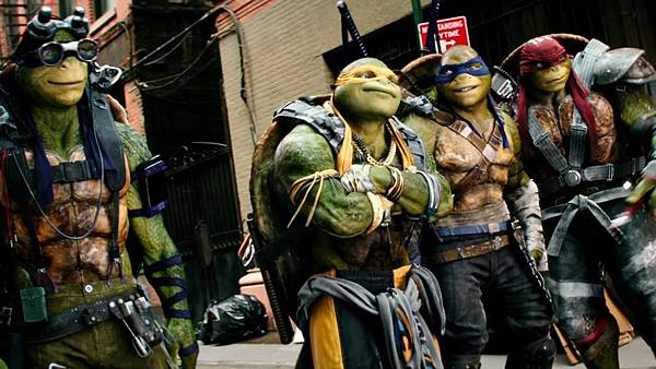 Teenage Mutant Ninja Turtles 201
