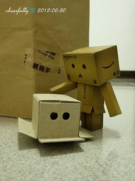來自紙箱王的小禮物1