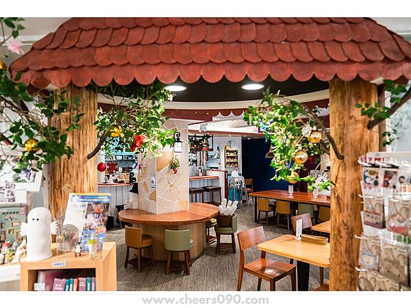 Moomin Cafe 嚕嚕米餐廳 聖誕大餐09.jpg