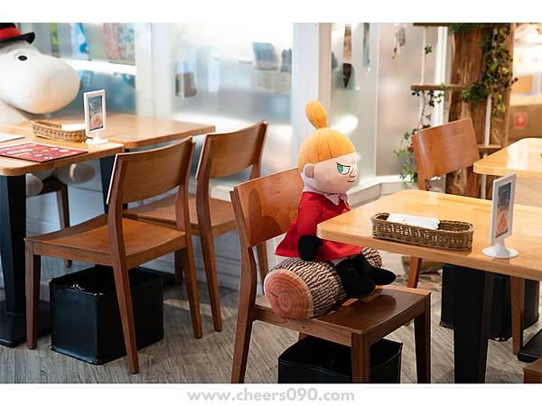 Moomin Cafe 嚕嚕米餐廳 聖誕大餐06.jpg