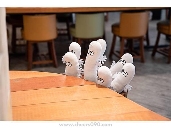 Moomin Cafe 嚕嚕米餐廳 聖誕大餐11.jpg