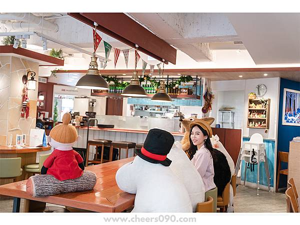 Moomin Cafe 嚕嚕米餐廳 聖誕大餐14.jpg
