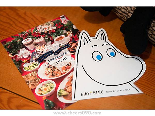 Moomin Cafe 嚕嚕米餐廳 聖誕大餐15.jpg