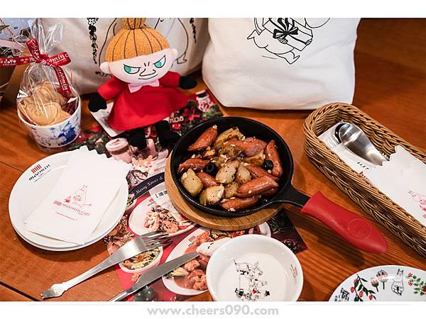 Moomin Cafe 嚕嚕米餐廳 聖誕大餐16.jpg