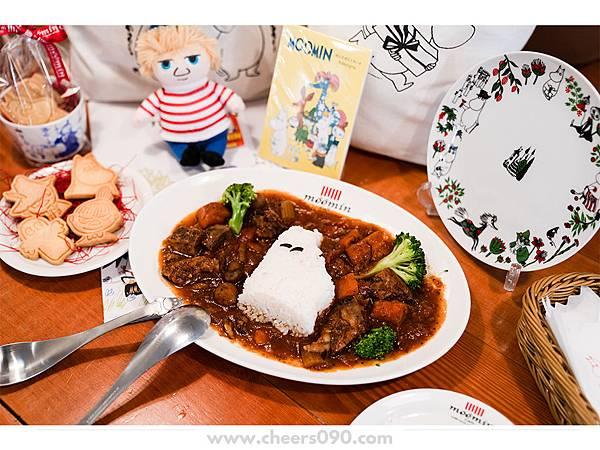 Moomin Cafe 嚕嚕米餐廳 聖誕大餐18.jpg