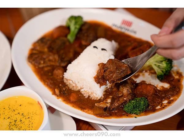 Moomin Cafe 嚕嚕米餐廳 聖誕大餐19.jpg