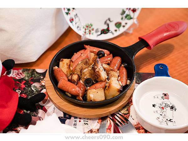 Moomin Cafe 嚕嚕米餐廳 聖誕大餐17.jpg