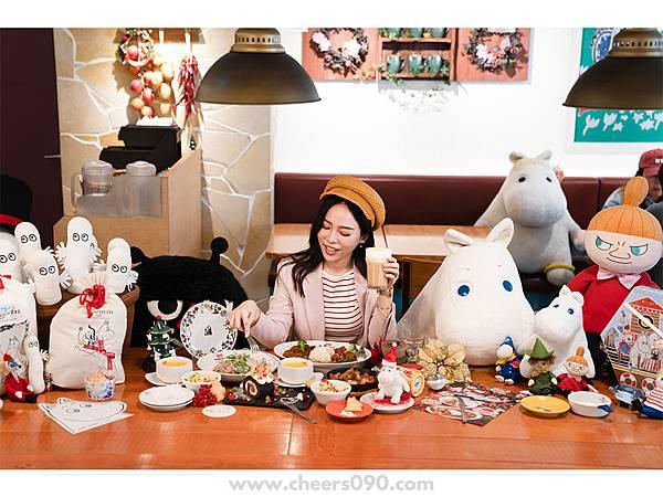 Moomin Cafe 嚕嚕米餐廳 聖誕大餐29.jpg