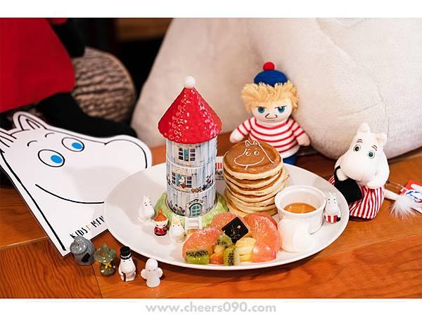 Moomin Cafe 嚕嚕米餐廳 聖誕大餐26.jpg