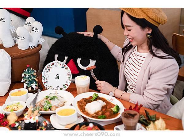 Moomin Cafe 嚕嚕米餐廳 聖誕大餐28.jpg