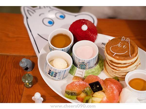 Moomin Cafe 嚕嚕米餐廳 聖誕大餐27.jpg