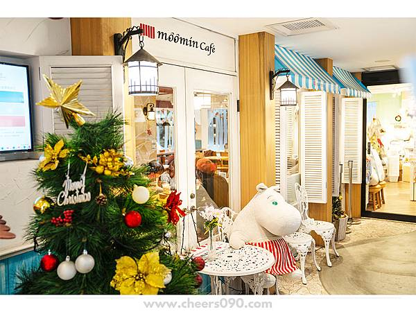 Moomin Cafe 嚕嚕米餐廳 聖誕大餐32.jpg