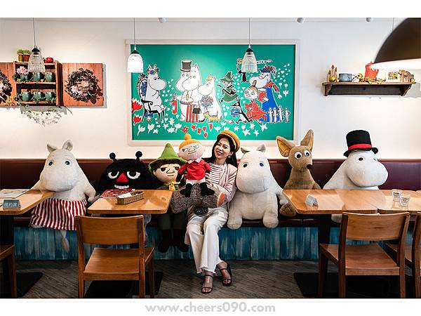 Moomin Cafe 嚕嚕米餐廳 聖誕大餐33.jpg