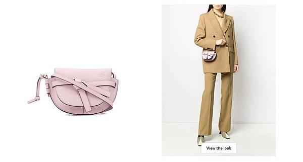 LOEWE gate bag 粉紅色包包 情人節禮物.jpg
