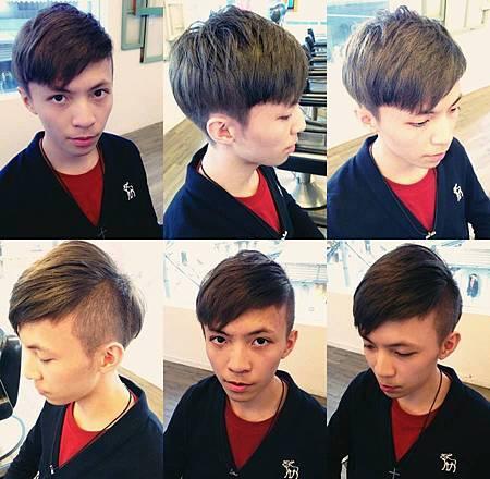 台北東區Rainbow Hair 設計師Cheetah作品----流行時尚東區髮型,東區男生剪髮,東區染髮,男生短髮,清爽有型。