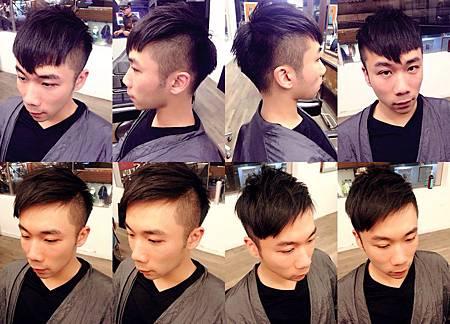 台北東區Rainbow Hair 設計師Cheetah作品----流行時尚潮男東區髮型,東區剪髮,男生髮型,陽光型男,復古油頭,多種造型,不規則瀏海