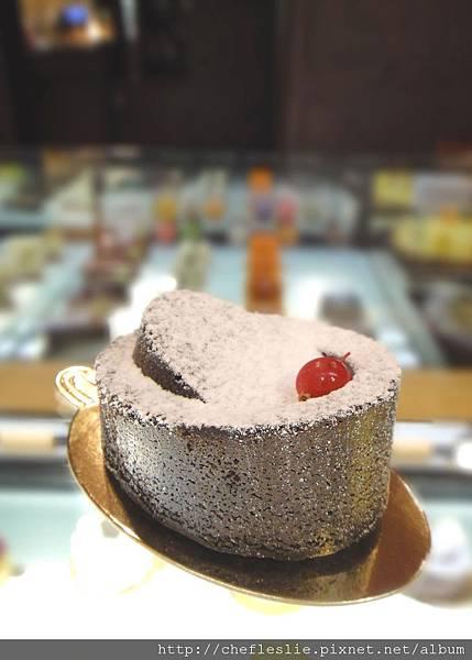 法式經典巧克力蛋糕 (Gâteau au chocolat) NTD$120.