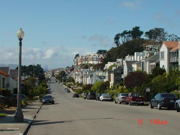 美國的住宅區街道真是令人神清氣爽
