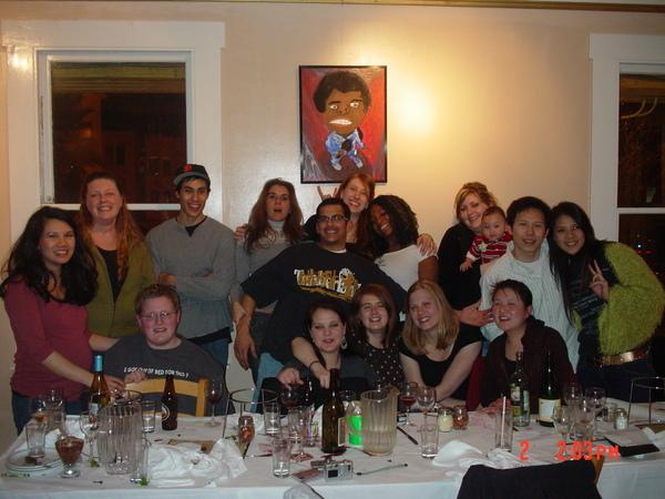 大家畢業前的最後一次聚餐