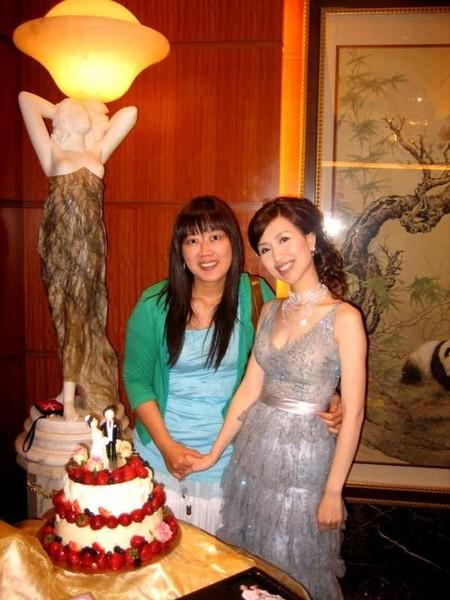 the bride & chef
