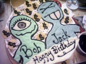 錢姓兄弟的b-day cake:)