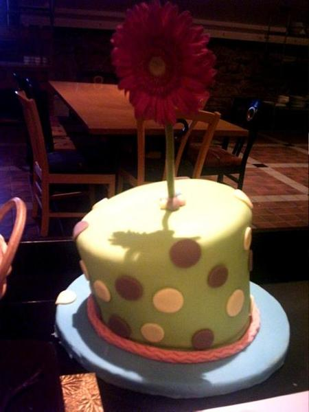 flower cake...it's cute eh?:)